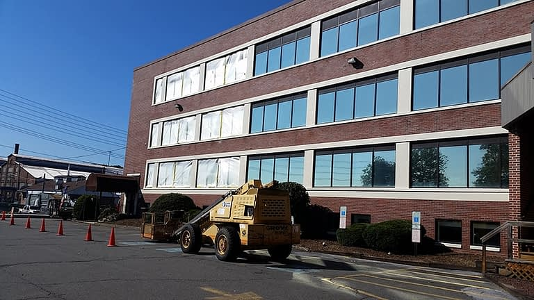 commercial building washing and sealing