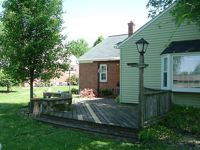 deck before cleaning ephrata pa