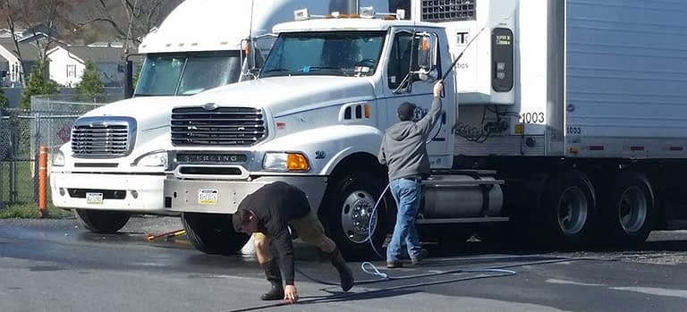 truck washing at your location ephrata pa