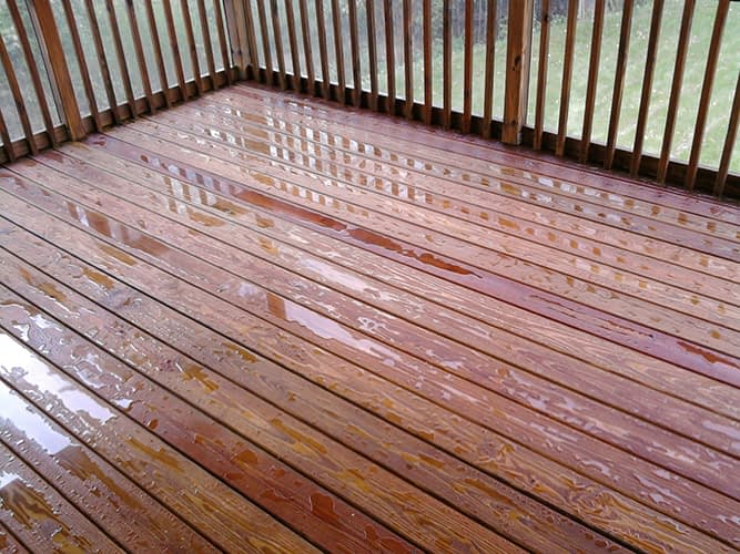 cleaning wood deck lancaster pa
