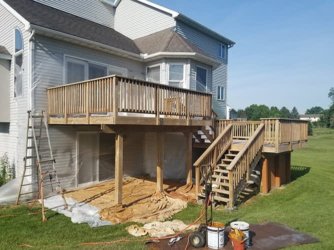 deck cleaining manheim p
