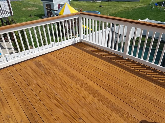 2 tone deck staining lititz pa